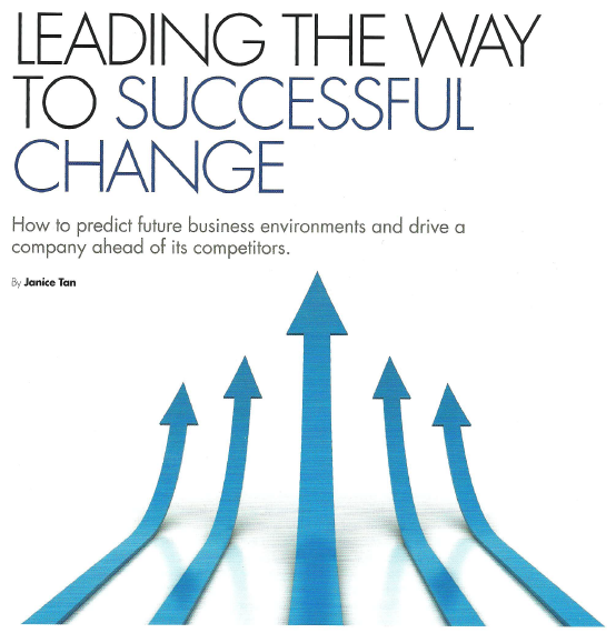 Leading The Way To Successful Change By Janice Tan